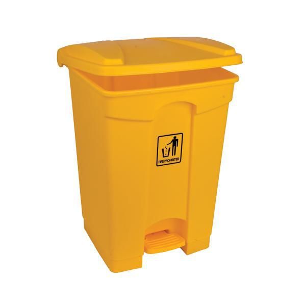 45L-Clinical-Waste-Pedal-Bin---Yellow