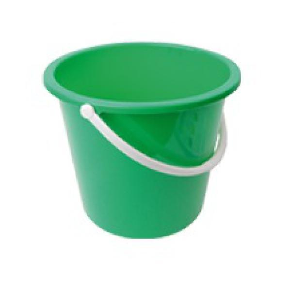 Plastic-Bucket-Green-10Ltr