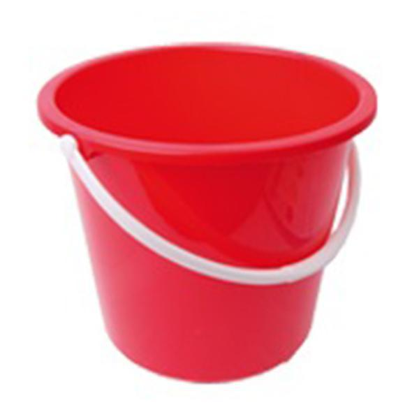 Plastic-Bucket-Red-10Ltr
