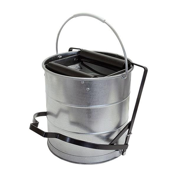Galvanised-bucket-with-roller-10L
