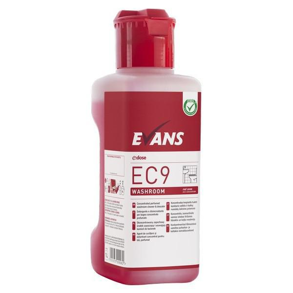 Eco-EC9-Red-Perfumed-Washroom-Cleaner-1L-CASE