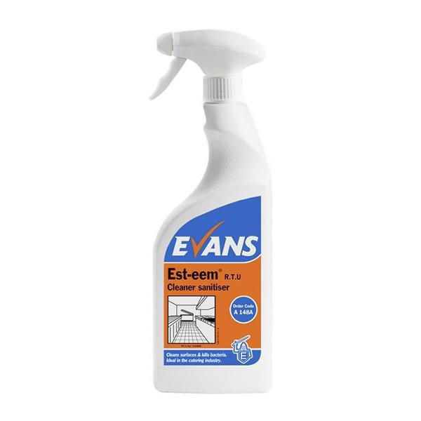 Evans Est-Eem Kitchen Sanitiser 750mL CASE