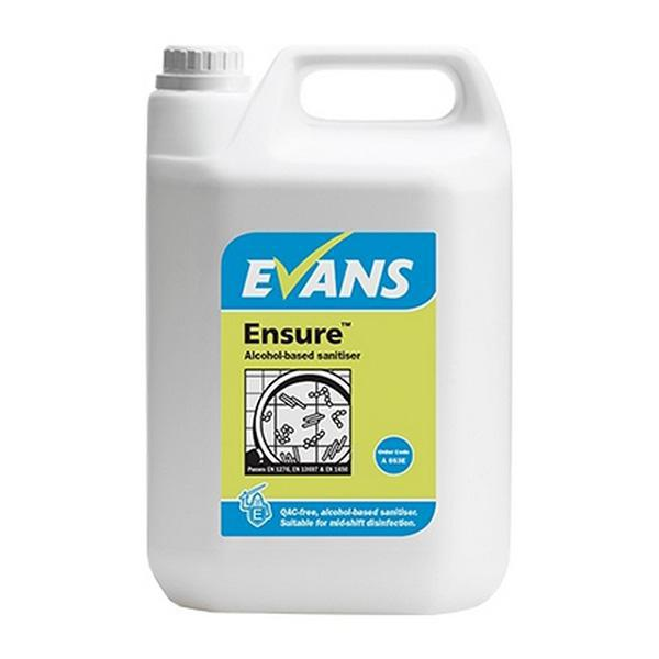 Evans-Ensure-Alcohol-Sanitiser-5L
