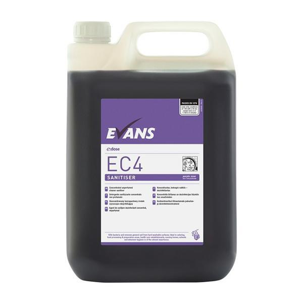 Eco EC4 Cleaner Sanitiser Purple Zone 5L