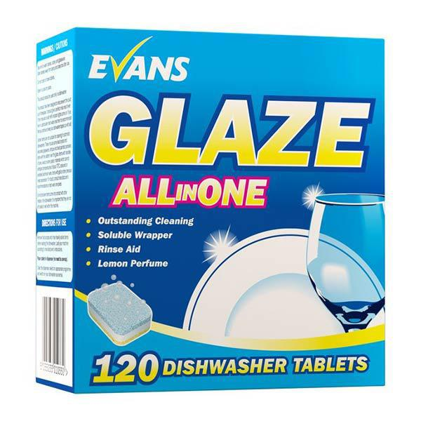 Glaze All in One Dishwasher TABLETS