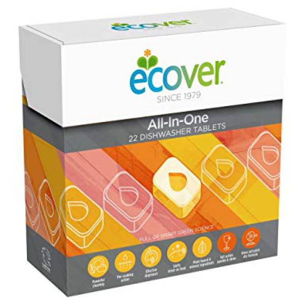 Ecover All in One Dish Tabs (22 tabs)