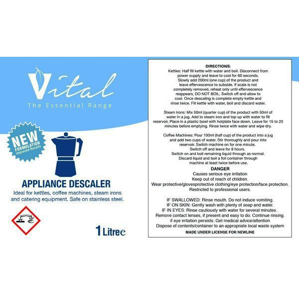 Vital Appliance/Surface Descaler 1L CASE