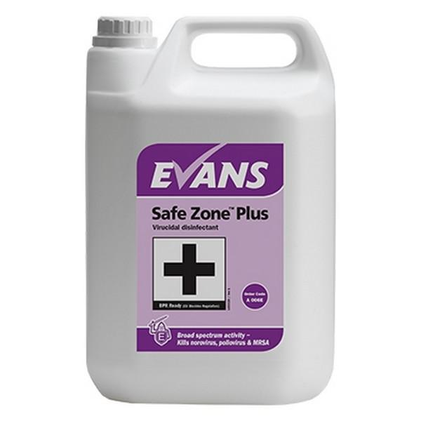 Evans-Safe-Zone-Plus-Disinfectant-5L-Eco