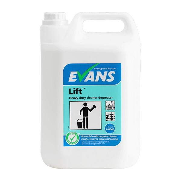 Evans Lift Unperfumed Cleaner/Degreaser 5L