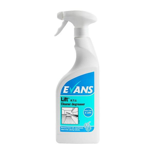 Evans Lift Unperfumed Cleaner&Degreaser 750mL CASE