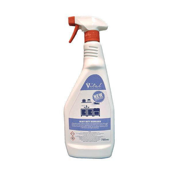 Vital Heavy Duty Degreaser 750mL CASE