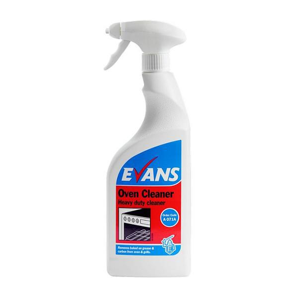 Evans Heavy Duty Oven Cleaner 750ml CASE