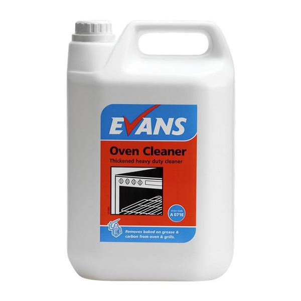Evans Heavy Duty Oven Cleaner 5Ltr