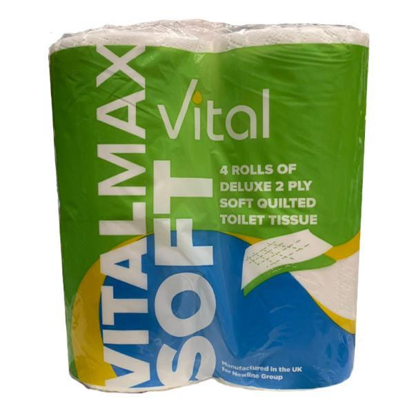 Softmax Luxury Quilted Toilet Tissue 
