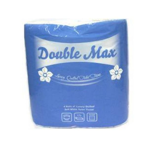 DoubleMax White Toilet Tissue 