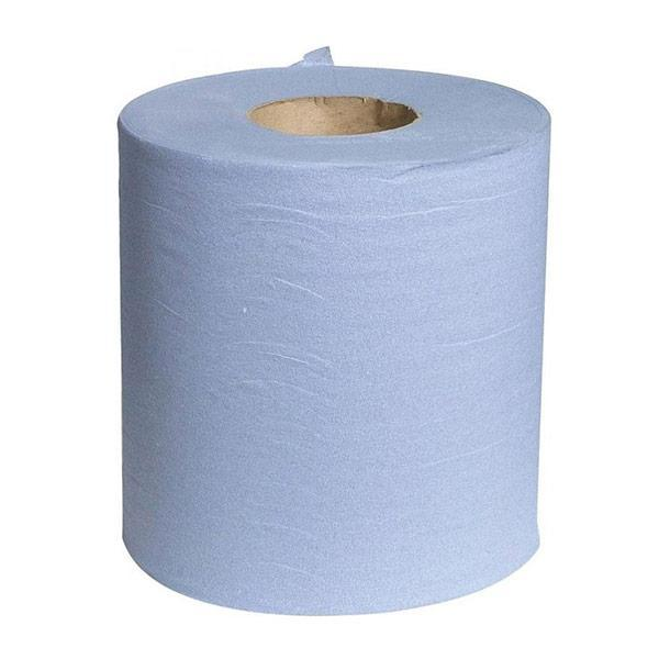 Blue Centrefeed 2 Ply Towel Roll 150mtr