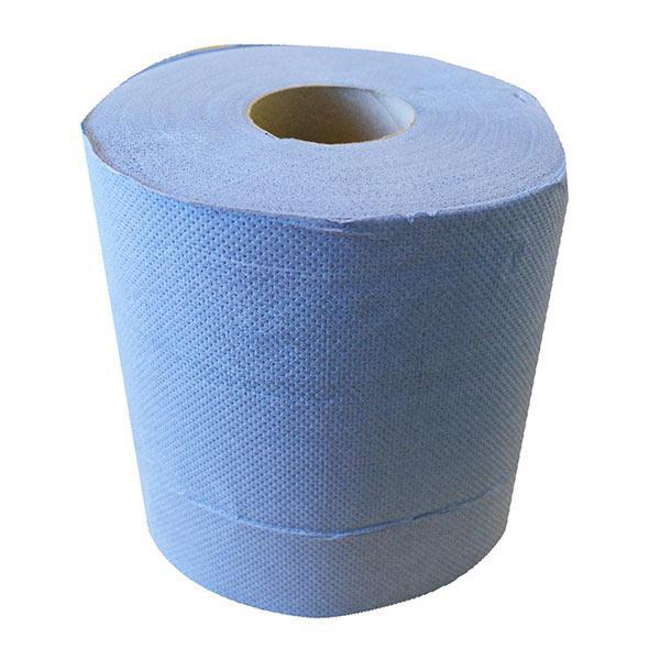 Blue Embossed Centrefeed 2 Ply