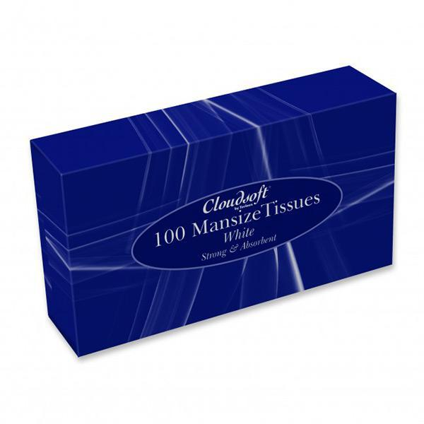 Mansize Facial Tissues 24 x 100