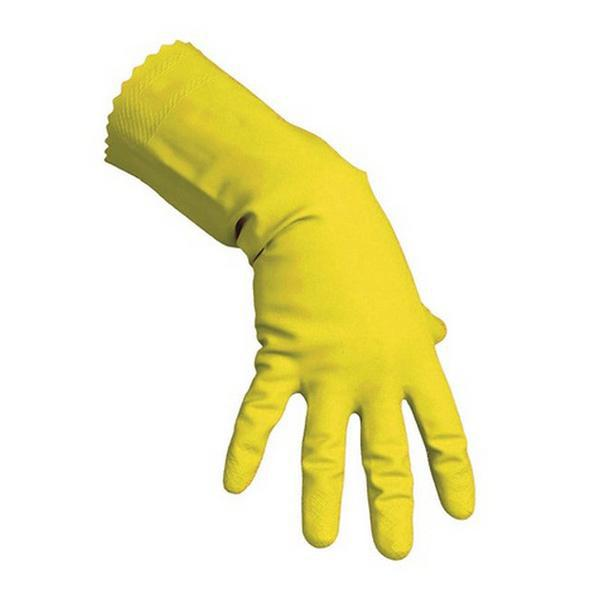Medium--Size:-8.5---9-Vileda-Rubber-Gloves-