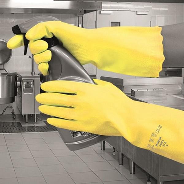 Small-7-Yellow-Pura-Hypo-Allergenic-PVC-Glove